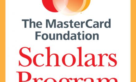 2017 Master Card Foundation Scholarship-McGill University Canada