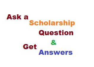 ask scholarship question and get answers