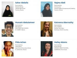 Schulich Leader Scholarship Nominees