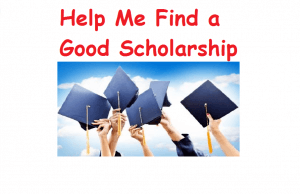 Help find a scholarship