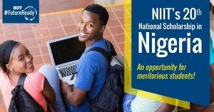 NIIT Scholarship Programme 2019